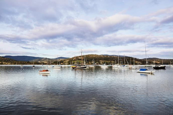 The Huon River.