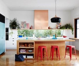 window splashback kitchen decor