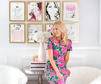 Fashion illustrator Kerrie Hess