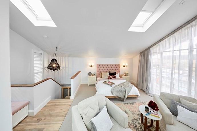 Master bedroom. Photo: The Block