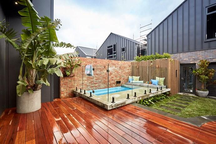 Backyard. Photo: The Block