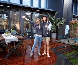 Josh and Elyse The Block