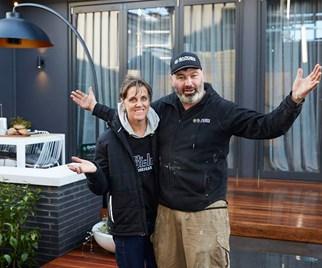 The Block Jason and Sarah
