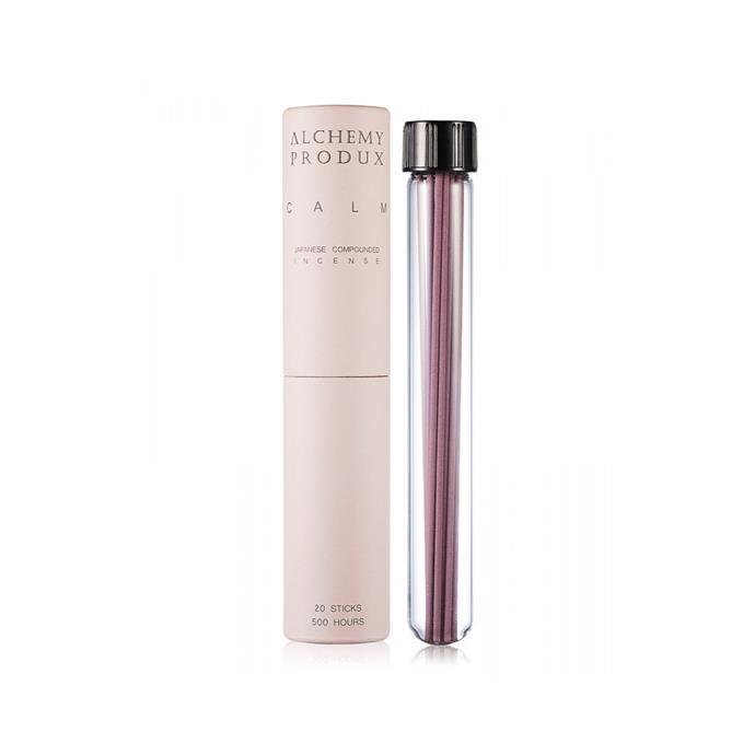 "Calm Pink Incense Stick, $20, [Alchemy Produx](https://www.designstuff.com.au/alchemy-produx-20-incense-sticks-calm-pink/|target=""_blank""|rel=""nofollow"")."