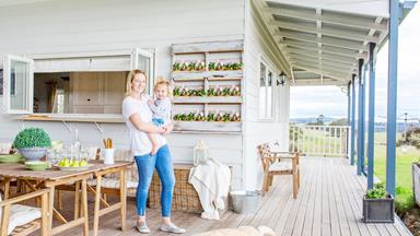 A self-built farmhouse celebrates upcycled style