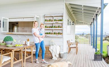 A self-built farmhouse celebrates upcycled style