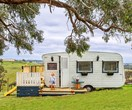 How an old caravan became a playroom