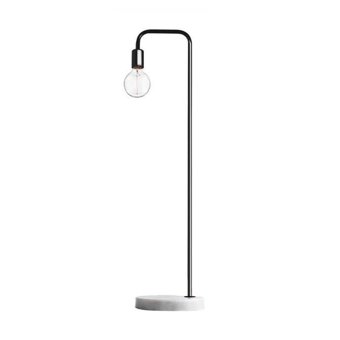 Exposed bulb lighting is an interior trend that is strikingly effortless yet consistently impressive.  <br><br> Marmo Floor Lamp, [$29](http://www.kmart.com.au/product/marmo-floor-lamp/1024803)