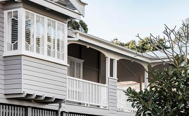A classic Queenslander gets a renovation and extension