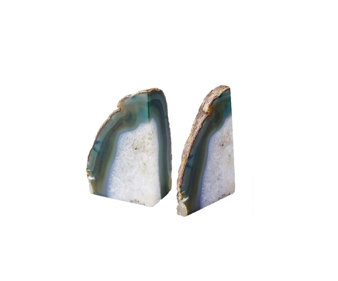 Agate Bookends, $39 [West Elm](http://www.westelm.com.au/agate-bookend-d1229).