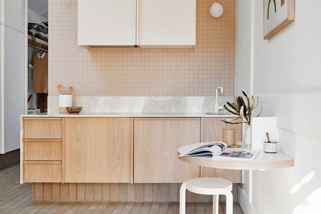 It may be small but this is one efficient kitchen. Photo: Nikole Ramsay