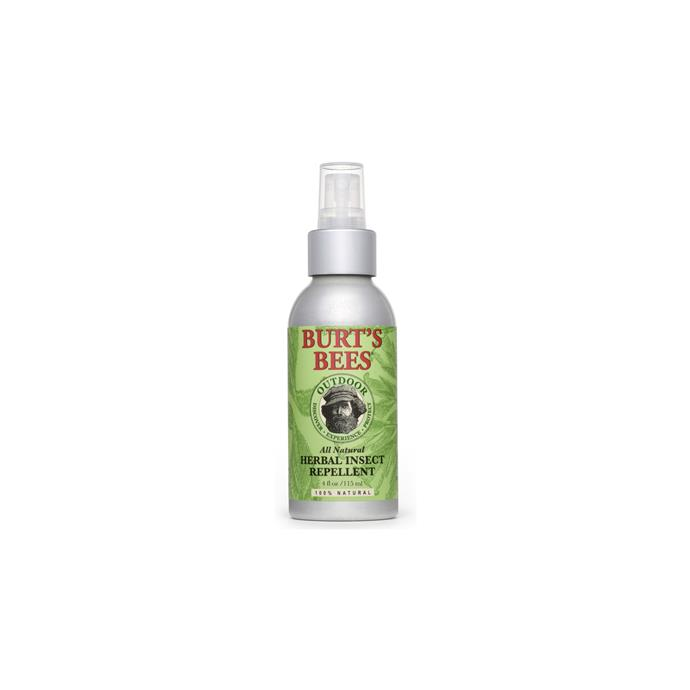 Made from both the stem and leaf of the Cymbopogon, Citronella Oil is a plant-based insect repellent, perfect for those after a natural insect repellent.  <br><br> Herbal Insect Repellent, $8, [Burts Bees](http://fave.co/2h6D3Kk)