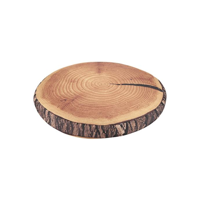 Bring a little of the great outdoors to your backyard with this stump cushion, perfect for lying under the stars or sitting on while toasting marshmallows. <br><br> Stump Cushion, $8, [Kmart](http://www.kmart.com.au/product/brown-stump-cushion/1640814)