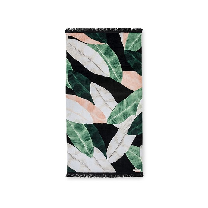 Cooya Beach Towel, $65, [Country Road](https://www.countryroad.com.au/gifting/gifts-for-her/60213109-9573/Cooya-Beach-Towel.html).