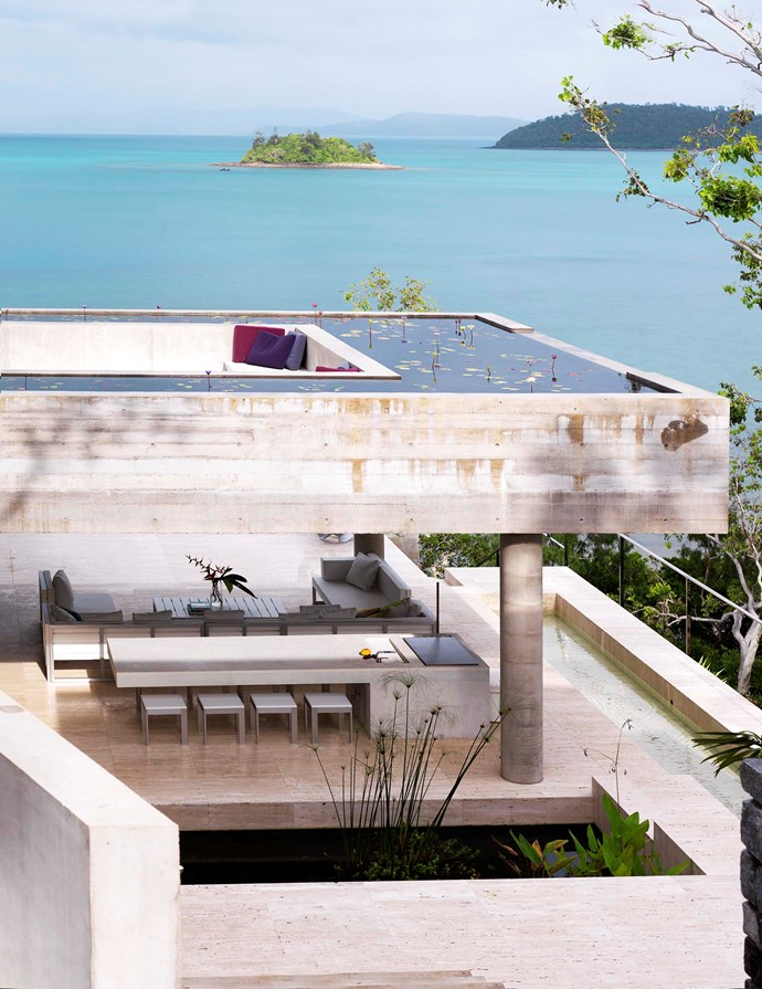 Hamilton Island home by Renato D'Ettorre. Photograph by Mads Mogensen. From *Belle* April/May 2011.