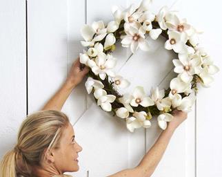 Unique Christmas wreaths