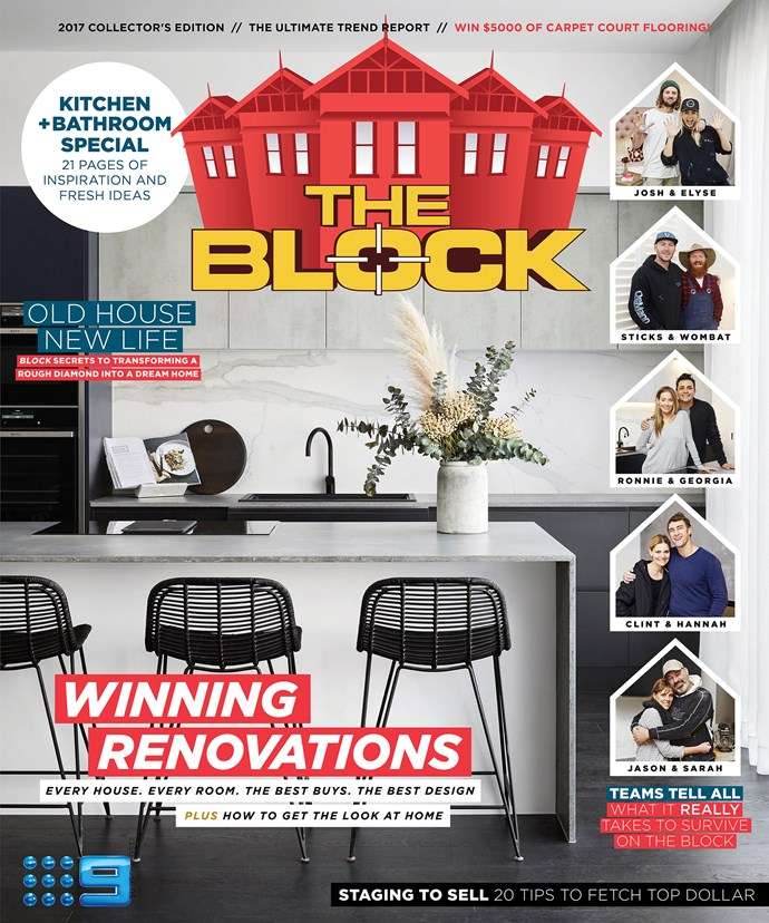 The Block magazine. RRP $12.95
