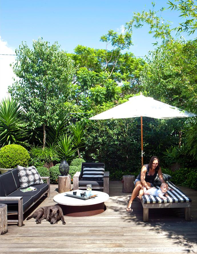Umbrellas are a practical, affordable and portable option for shading your outdoor space.