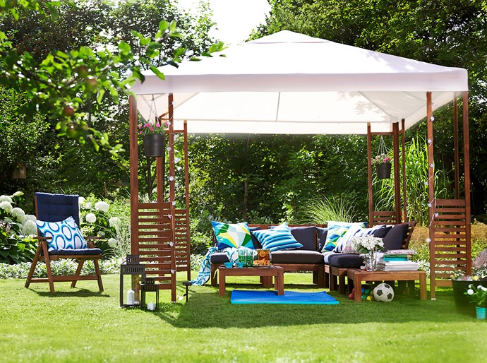 Gazebos are available in a range of materials, and can be customised to meet the needs of your outdoor space.