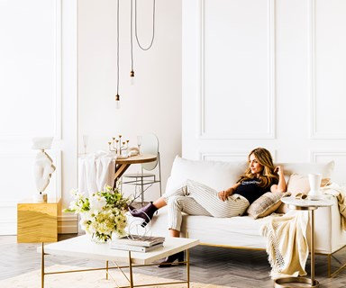 How master an all-white interior
