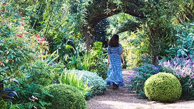 An exceptional 19th century garden at Bronte House