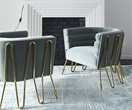 Trend alert: Velvet chairs