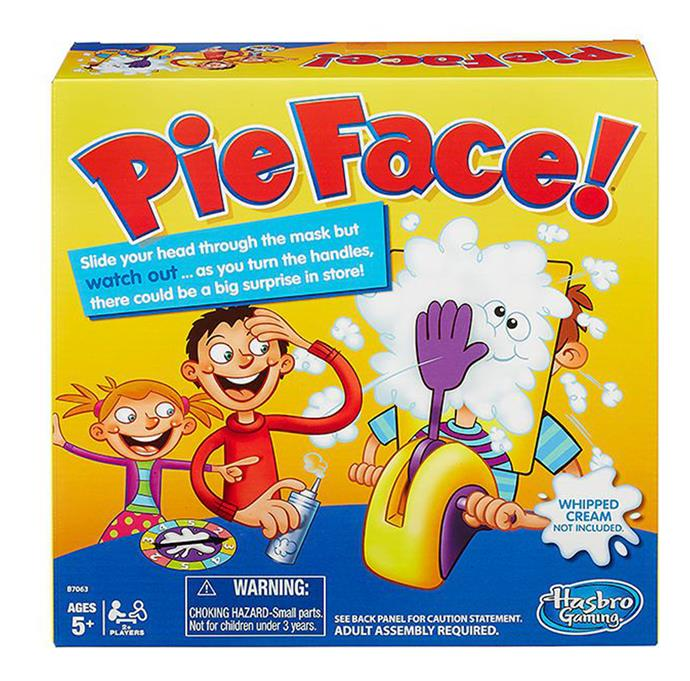 There will be lots of laughs come Christmas Day thanks to the Pie Face game. Spin the wheel and just hope you aren't the family member to receive a whipped-cream splat in the face.  [Pie Face!](https://www.target.com.au/p/pie-face/58764176?utm_term=58764176&utm_content=pie-face&utm_source=google&utm_medium=merchant-site&utm_campaign=merchant-site&gclid=CjwKCAiAxarQBRAmEiwA6YcGKM7DHGiEy1cJDl-hZA_0fSgADO3VXU38OiVwxiz0250_6Rofygzt8RoC4lYQAvD_BwE&gclsrc=aw.ds&dclid=CN_G7uGgv9cCFQQslgodTScKuA), $29