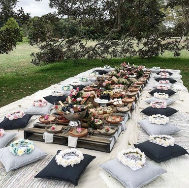 Stylish accessories for the ultimate picnic