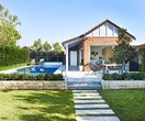 How an old garage became a party-perfect pool house