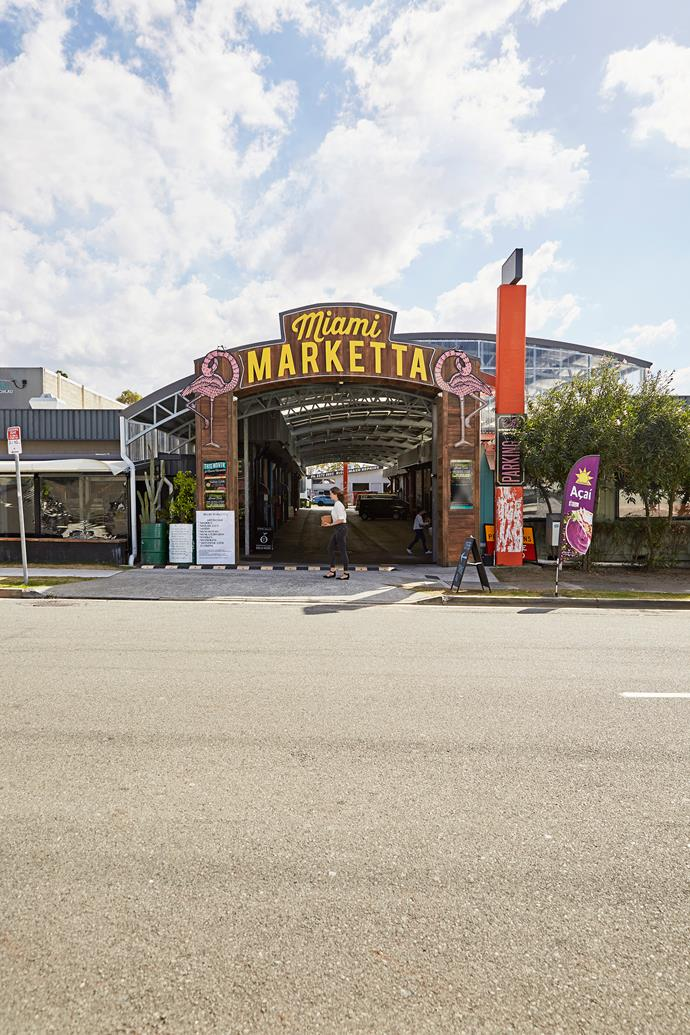 Head to Miami Marketta for live music and street food.