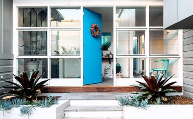 A Manly beach house that's merry and bright