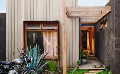 Kip & Co co-founder Hayley Pannekoecke's colourful home