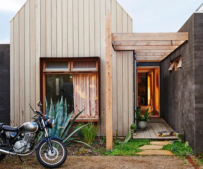 A-frame house design