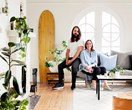 Hunting For George co-owners Lucy and Jonno's modern retro rental