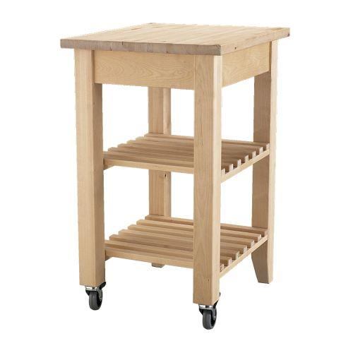 """Extra storage and extra bench space - two things you can't have enough of. BEKVÄM Kitchen trolley, [$79](http://www.ikea.com/au/en/catalog/products/10240349/