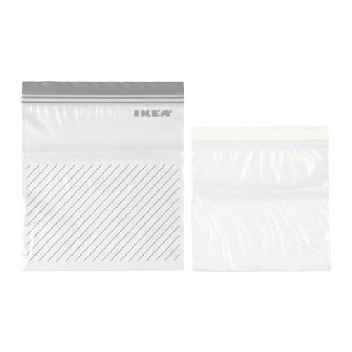 """Great for doggy bags and storing leftovers. ISTAD Plastic bag, [$2.99 / 50 pack](https://www.ikea.com/au/en/catalog/products/20346802/