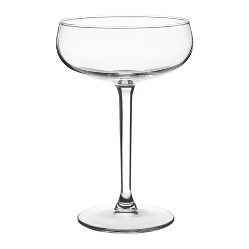 """Because you can never have too many champagne glasses. STORHET Champagne coupe, [$2.99](http://www.ikea.com/au/en/catalog/products/60342883/