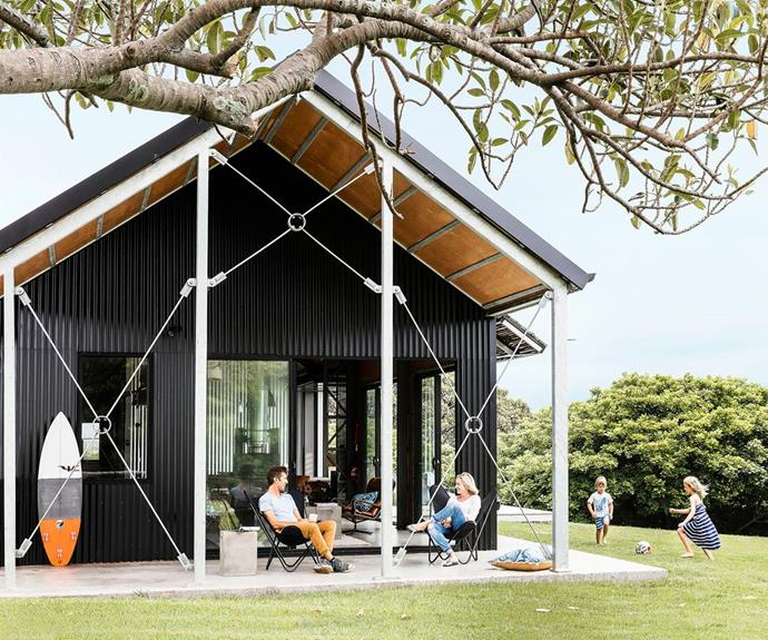 "[A modernist shed conversion for the perfect holiday house.](https://www.homestolove.com.au/shed-conversion-how-to-build-a-stylish-holiday-house-for-less-4882|target=""_blank""