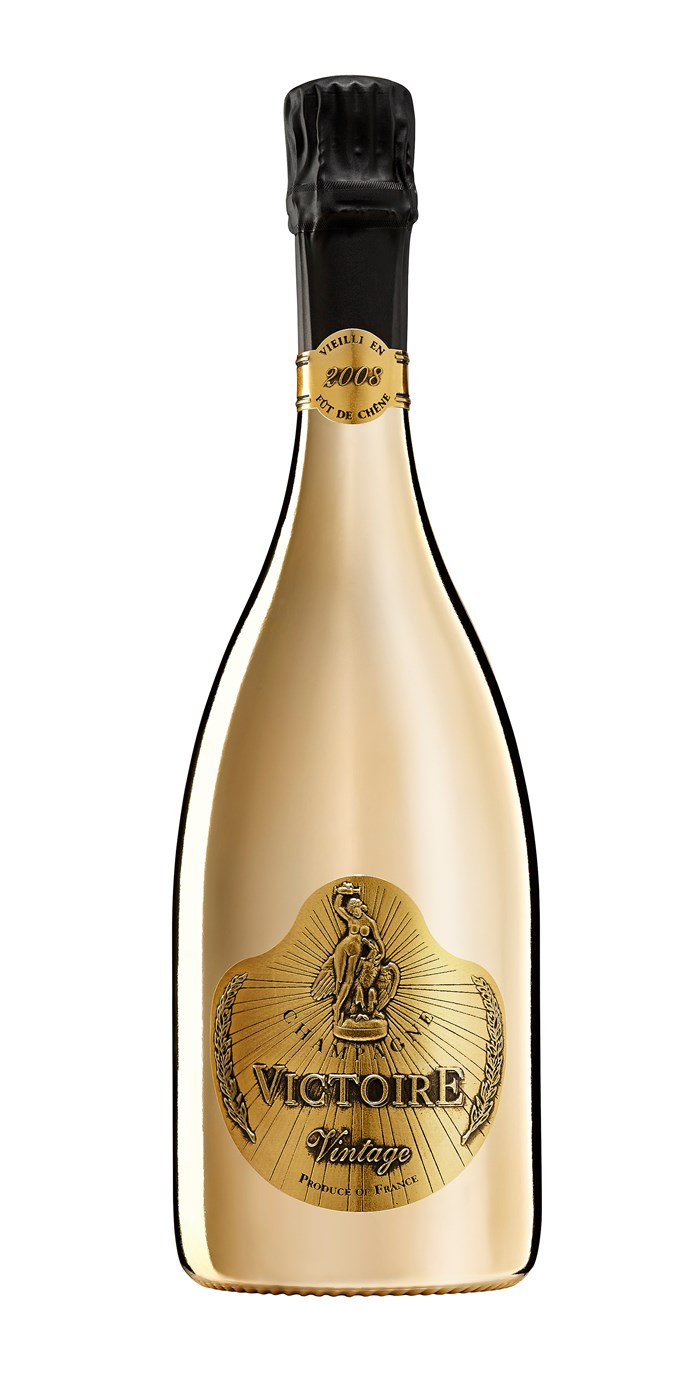 "Victoire Gold Vintage Champagne, $99.99, [Dan Murphys](https://www.danmurphys.com.au/product/DM_508868/victoire-gold-vintage-champagne.jsp;jsessionid=A5F798179B082DA3C64AA451B8B30F3F.ncdlmorasp1306?bmUID=m0y3i8J|target=""_blank""|rel=""nofollow"")"