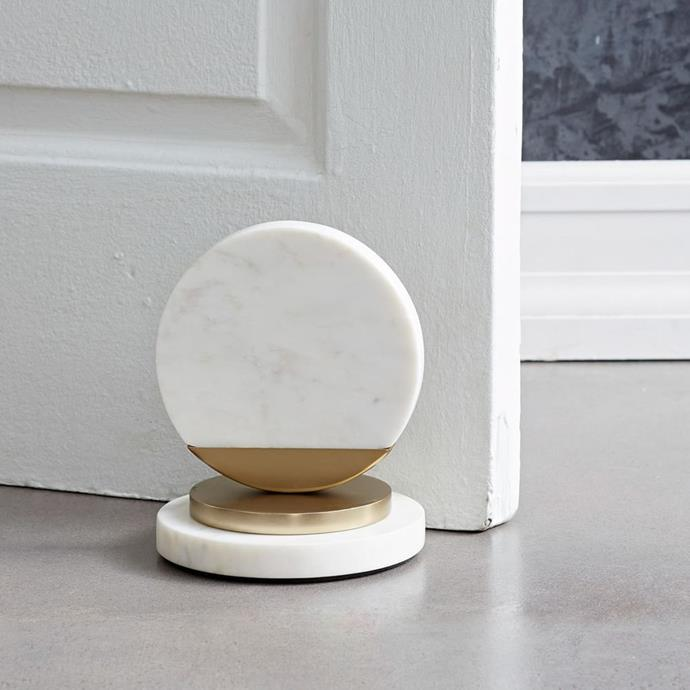 Deco Marble doorstop, $89, [West Elm](http://rstyle.me/~acHut)