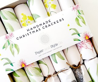 Handmade Christmas crackers 2017