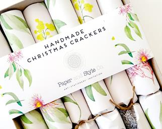 Handmade Christmas crackers 2017