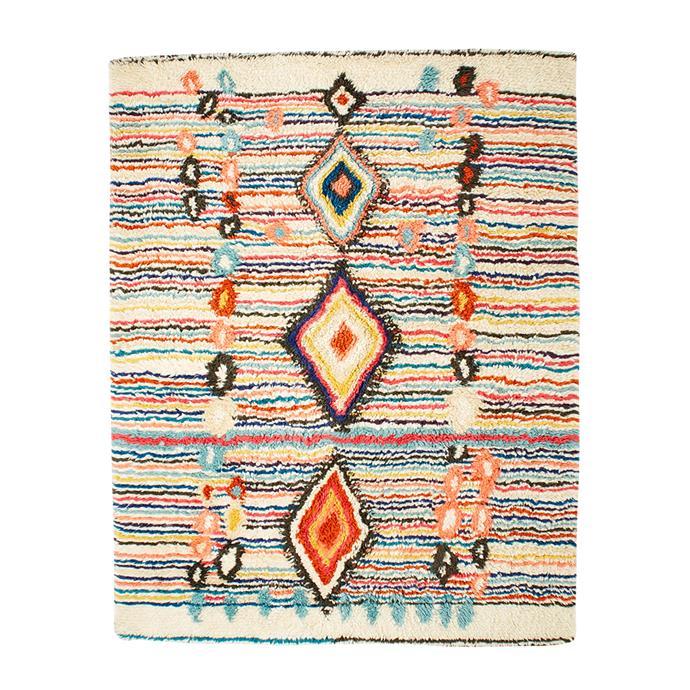 "Charm Wool Rug, $699 at [West Elm](http://www.westelm.com.au/charm-wool-rug-t1515|target=""_blank""|rel=""nofollow"")"