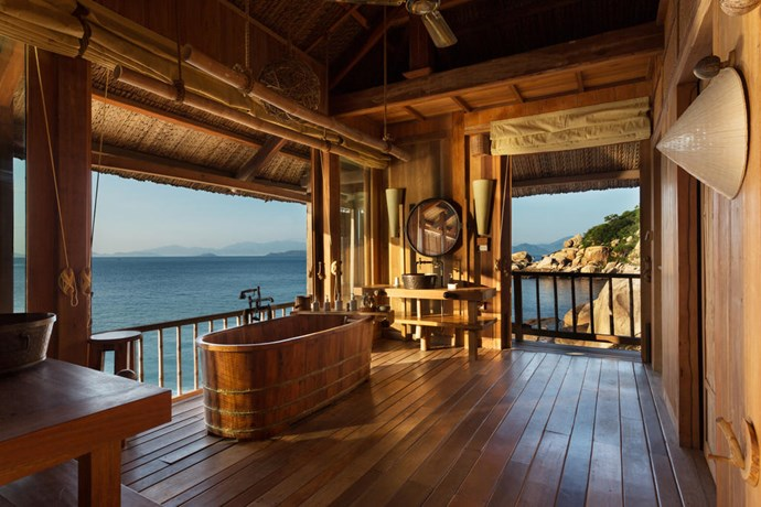 **Beach Pool Villa, Six Senses Ninh Van Bay, Vietnam** <br><br> Overlooking the sea, Six Senses Ninh Van Bay Vietnam offers luxurious and spacious villas with private pools.