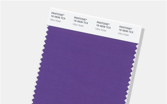Expect to see Pantone's Ultra Violet 18-3838 everywhere in 2018.