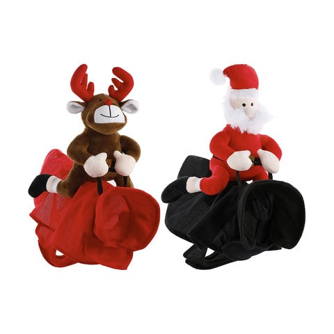 "Christmas Pet Plush Rider Costume, $7, [Kmart](http://www.kmart.com.au/product/christmas-pet-plush-rider-costume---assorted/1808813|target=""_blank"")"