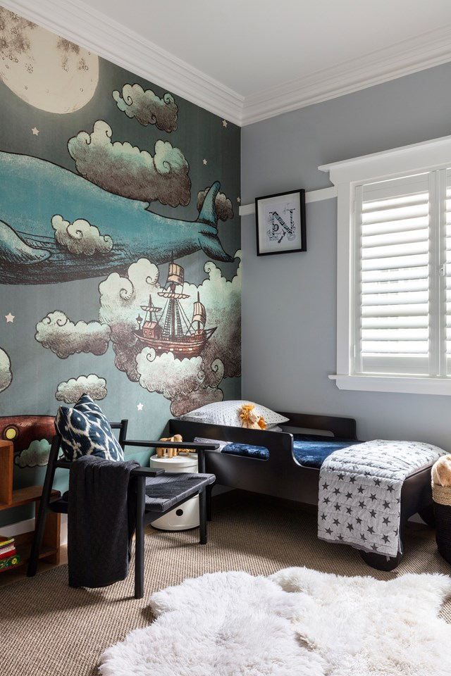 This nautical-inspired room is what dreams are made of. *Interior design: The Designory   Photo: Tom Ferguson*