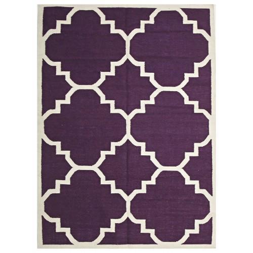 "Safi Aubergine Moroccan Trellis Flatweave Rug, from $323, [Miss Amara](https://missamara.com.au/safi-aubergine-moroccan-trellis-flatweave-rug|target=""_blank""|rel=""nofollow"")"