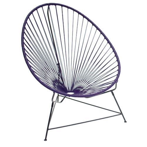 """Purple Authentic Acapulco Chair, $169, [Temple & Webster](https://www.templeandwebster.com.au/Purple-Authentic-Acapulco-Chair-ACP174-VLFE1023.html