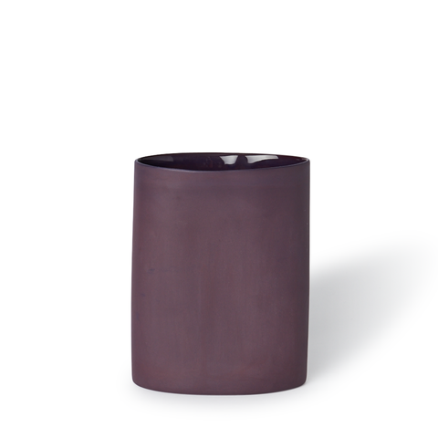 "Oval Vase (Medium) in Plum, $176, [Mud Australia](https://mudaustralia.com/collections/vases/products/vaseovalmedium?variant=1171242060|target=""_blank""|rel=""nofollow"")"